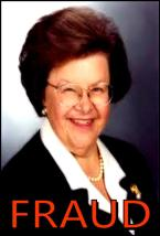 REP. BARBARA MIKULSKI THE FRAUD