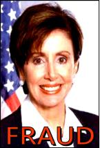 REP. NANCY PELOSI THE FRAUD