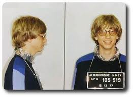 BILL GATES MUG SHOT