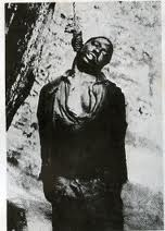 BLACK MAN LYNCHED