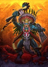 CHUPACABRA AND HUITZILOPOCHTLI, The Aztec God of War3