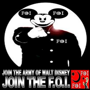 JOIN THE ARMY OF WALT DISNEY