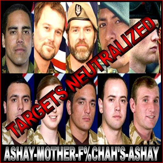 DEAD U.S. SOLDIERS
