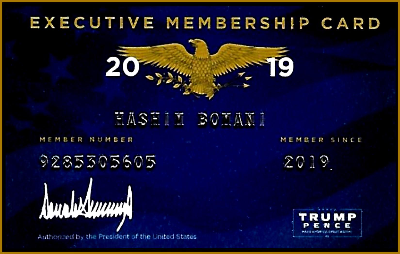 EXECUTIVE CARD