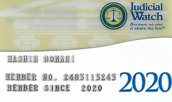 judicial watch card