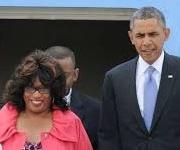 corrine and obama
