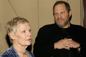 NEW YORK - NOVEMBER 28: (U.S. TABS OUTS & HOLLYWOOD REPORTER OUT) Actress Dame Judi Dench and Harvey Weinstein attend a special screening for The Weinstein Company's Mrs. Henderson November 28, 2005 in New York City. (Photo by Scott Wintrow/Getty Images)
