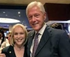 GILLIBRAND AND BILL CLINTON