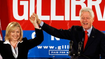 SEN KIRSTEN GILLIBRAND AND CLINTON