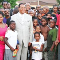 WHY IS FARRAKHAN COMING OUT OF HIDING? EVERY LOW IQ COMMUNITY NEEDS A HUCKSTER PIMP!!!