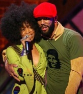 Erykah Badu and Common (Photo by M. Caulfield/WireImage for Essence Entertainment)