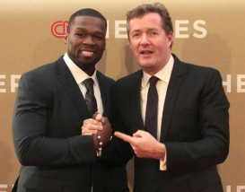 50 CENT AND PIERS MORGAN
