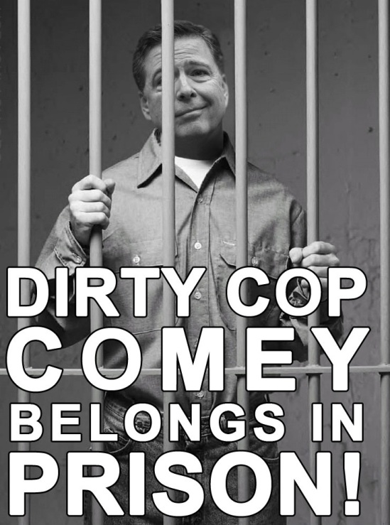 COMEY GOES TO JAIL