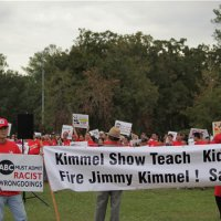 JIMMY THE GIMP KIMMEL, YOU PERVERTED GENOCIDAL SON OF A BITCH! APOLOGY NOT ACCEPTED... BOYCOTT ABC AND DISNEY!