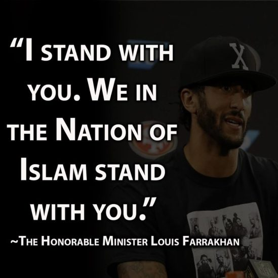 Colin-Kaepernick AND THE NATION OF ISLAM