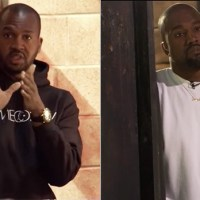 PUNK BITCH VAN LATHAN FROM TMZ HAD THE NERVE TO DROP HIS BABY NUTTS ON KANYE WEST...