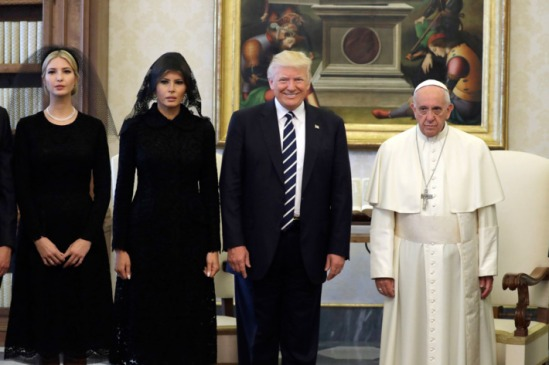 TRUMP THE POPE