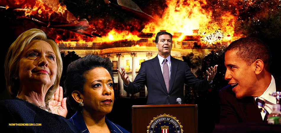 OBAMA, COMEY, CLINTON & LYNCH, YOU CORRUPT PIECES OF SHIT