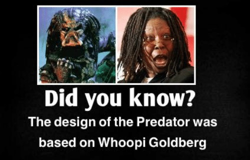 WHOOPI THE PREDATOR