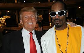 SNOOP LOVES TRUMP