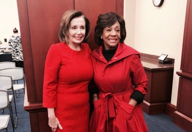 WATERS AND PELOSI