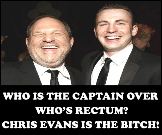 CHRIS EVANS AND WEINSTEIN