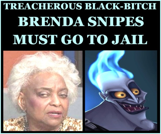 BRENDA SNIPES GOES TO JAIL