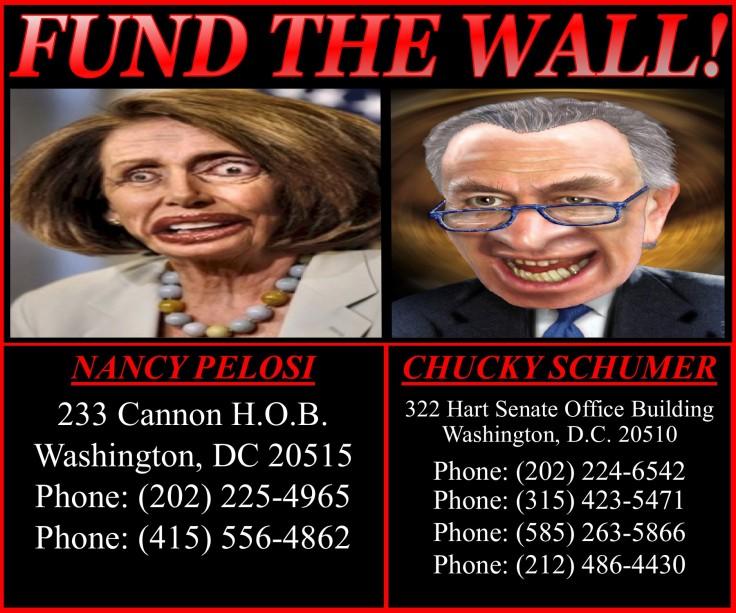 FUND THE WALL SCUM