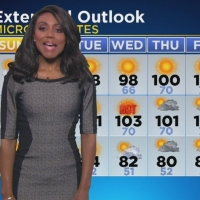 BE ADVISED KCAL 9, MARKINA BROWN IS NOT GENETICALLY QUALIFIED TO DO WEATHER...
