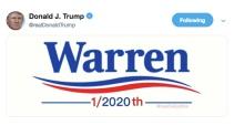 trump-tweet-warren-fb