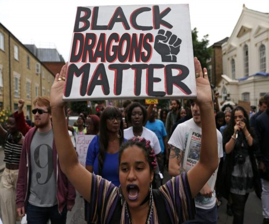 BLACK DRAGONS MATTER