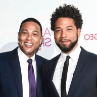 NEW YORK, NY - JUNE 14: Jussie Smollett and Don Lemon attend the 2018 Ailey Spirit Gala Benefit at David H. Koch Theater at Lincoln Center on June 14, 2018 in New York City. (Photo by Daniel Zuchnik/Getty Images)