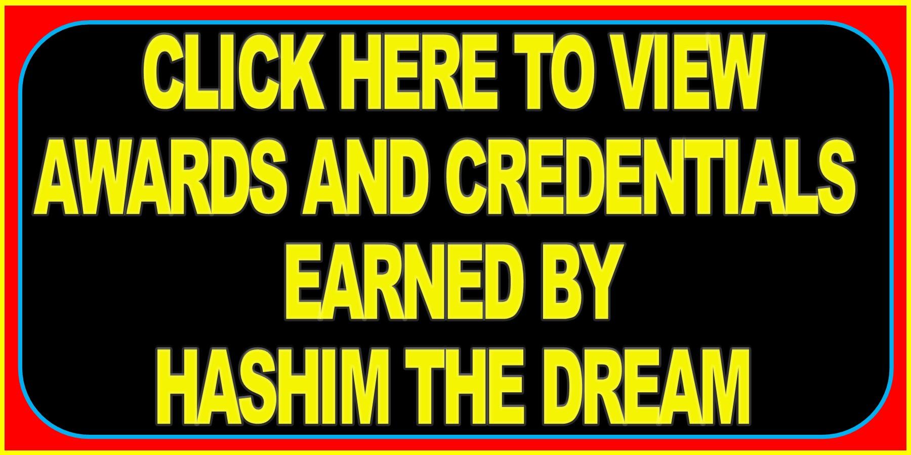 HASHIM AWARDS