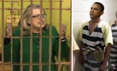 INMATES OBAMA AND HILLARY