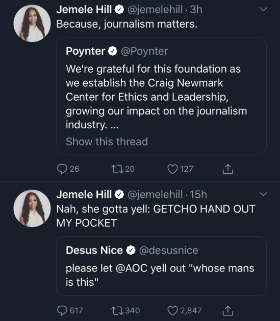 JEMELE HILL ASSASSIN PLOT