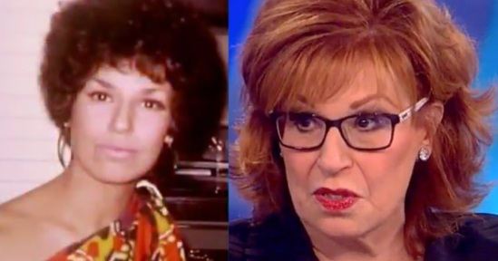JOY BEHAR IN BLACKFACE