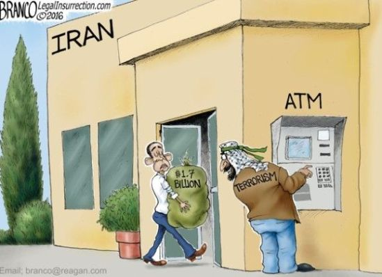 OBAMA GIVES IRAN BILLIONS