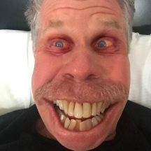 BITCH ASS Ron Perlman