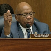 Maryland Congressman Elijah Cummings of the oversight and Government Reform committee says at a joint hearing with FBI Deputy Assistant Director Peter Strzok that there has been one obvious development in this case which is 5 guilty pleas and 18 indictments including some of president Trump's closest advisors.
