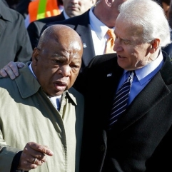 Joe-Biden AND HOUSE NEGRO John-Lewis