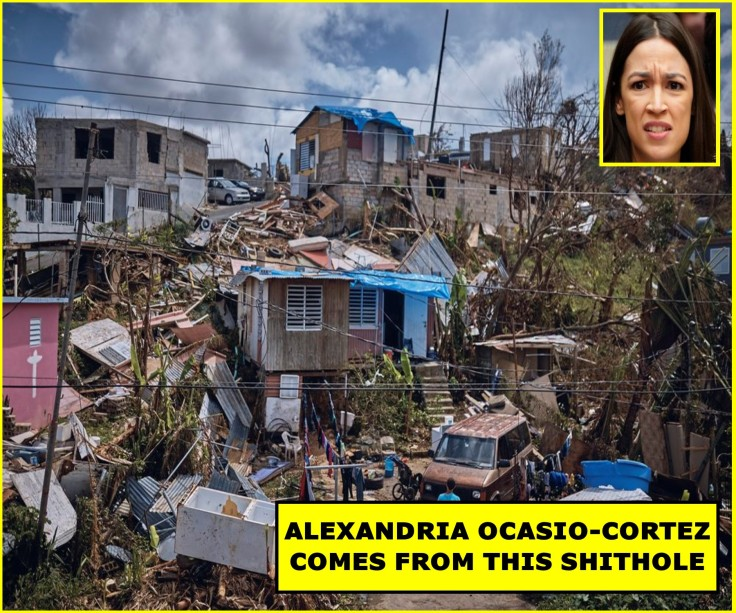 AOC SHIT HOLE