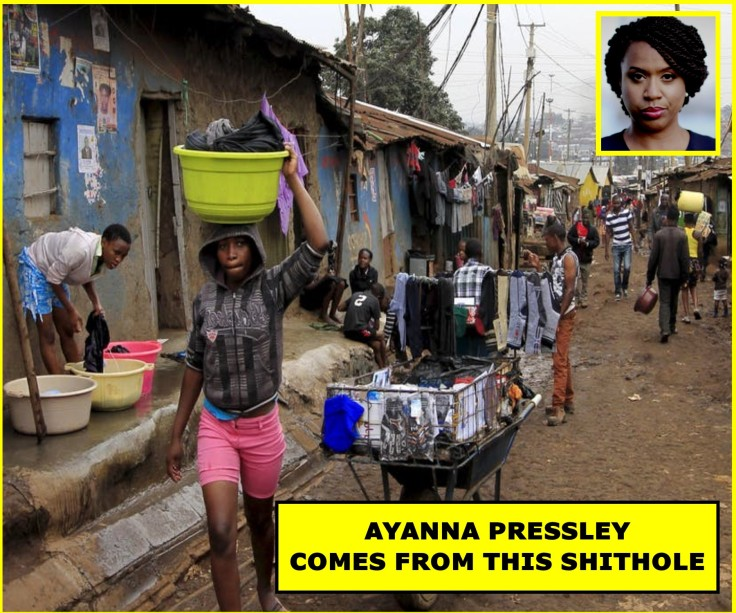 AYANNA' SHITHOLE COUNTRY