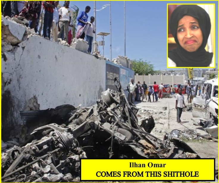 Ilhan Omar SHITHOLE COUNTRY