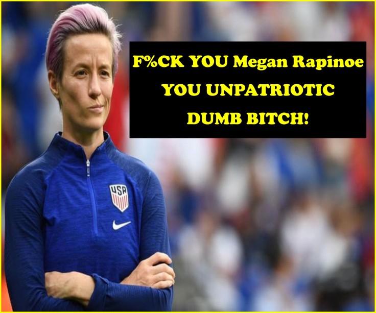 UNPATRIOTIC Megan Rapinoe