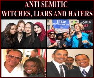 ANTI SEMITE BITCHES