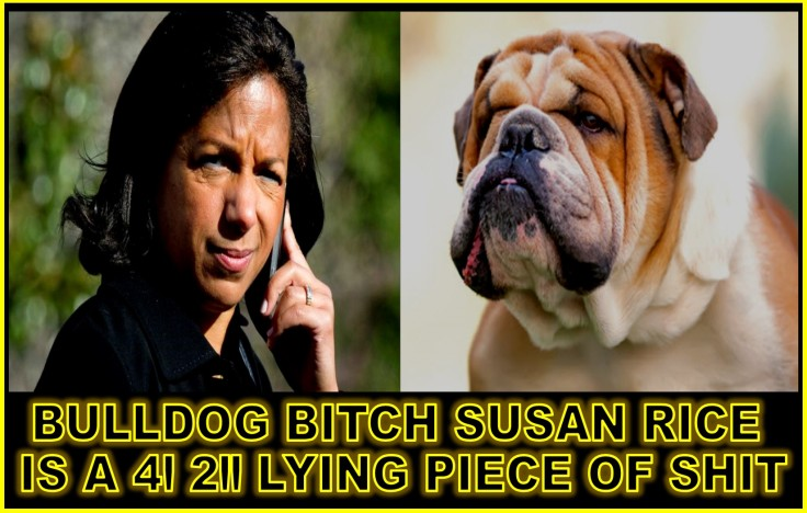 BULLDOG BITCH SUSAN RICE