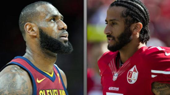 CHINA SHUTS UP LEBRON AND KAEPERNICK