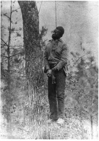 DEMOCRATS LYNCHED BLACK MEN