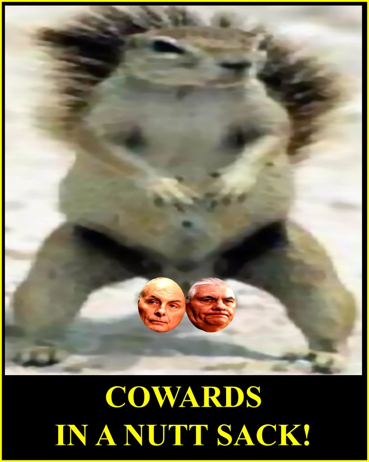 BITCHASS COWARDS