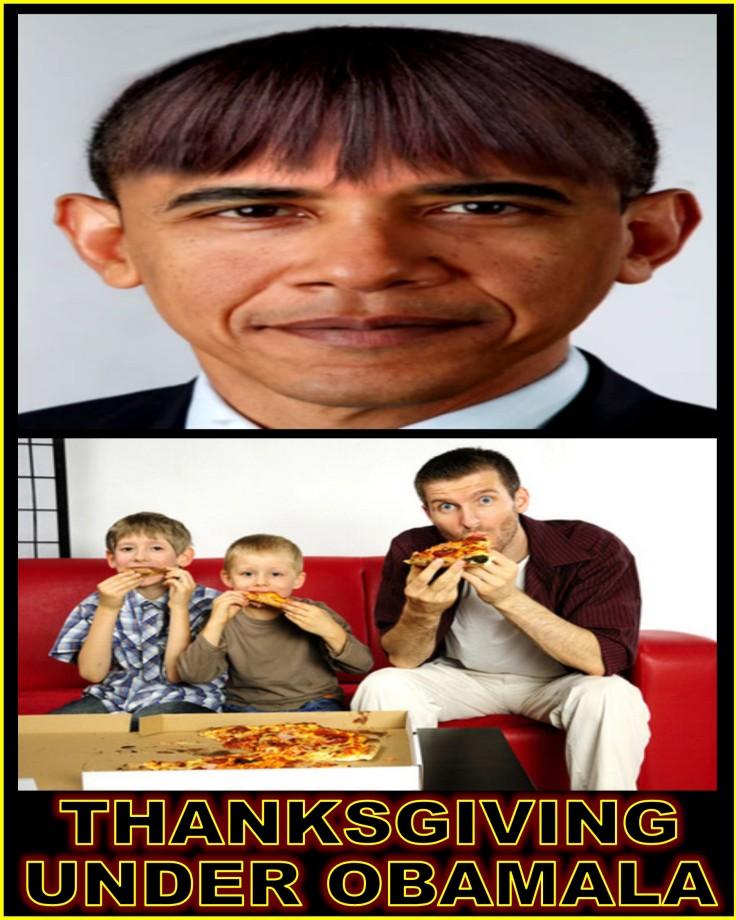 THANKSGIVING UNDER OBAMALA